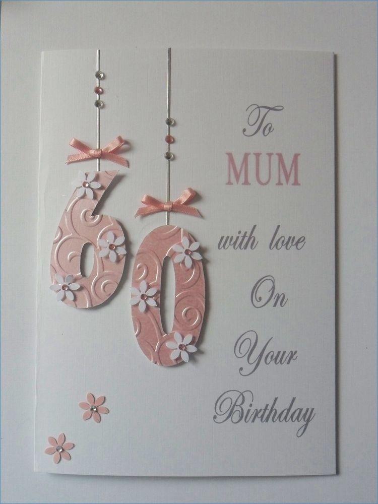 Personalised Handmade Birthday Card 18th 21st 30th Etc Mum Sister