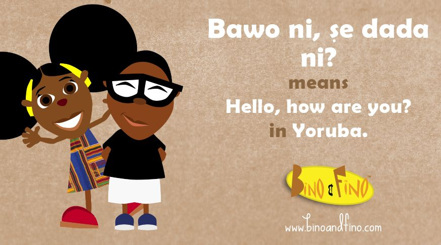 love letter in yoruba language