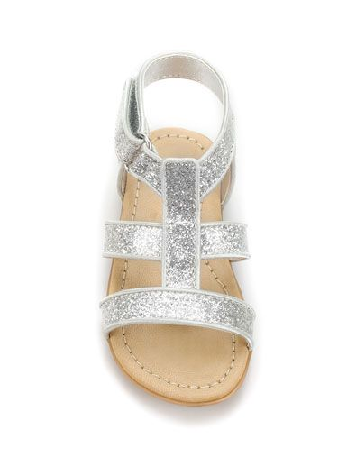 GLITTER SANDAL - Collection - Baby girl (3-36 months) - Kids - SALE - ZARA United States