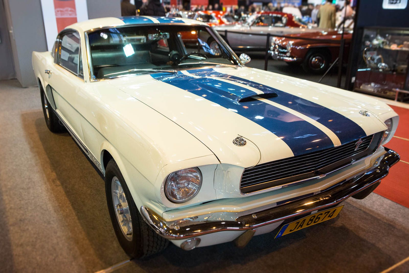 1966 mustang ab werk clarion nz500 wiring diagram ford shelby gt350 salon rétromobile 2015