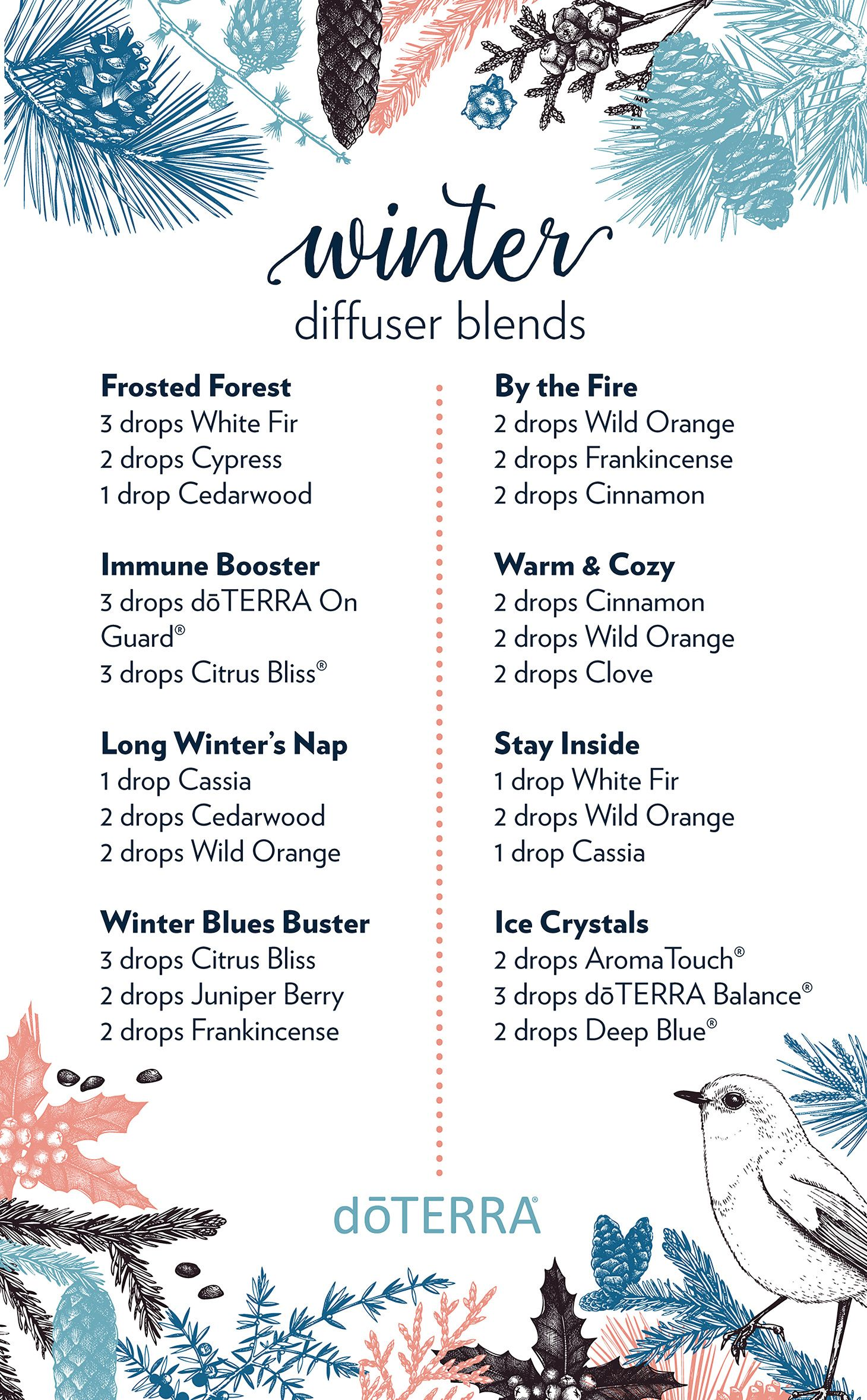 8 Diffuser Blends To Diffuse During Wintertime Diffuser
