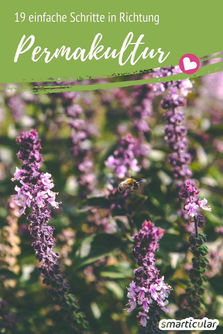 19 Tipps: So wird der Garten zum Permakultur-Garten – Kräutergarten Ideen