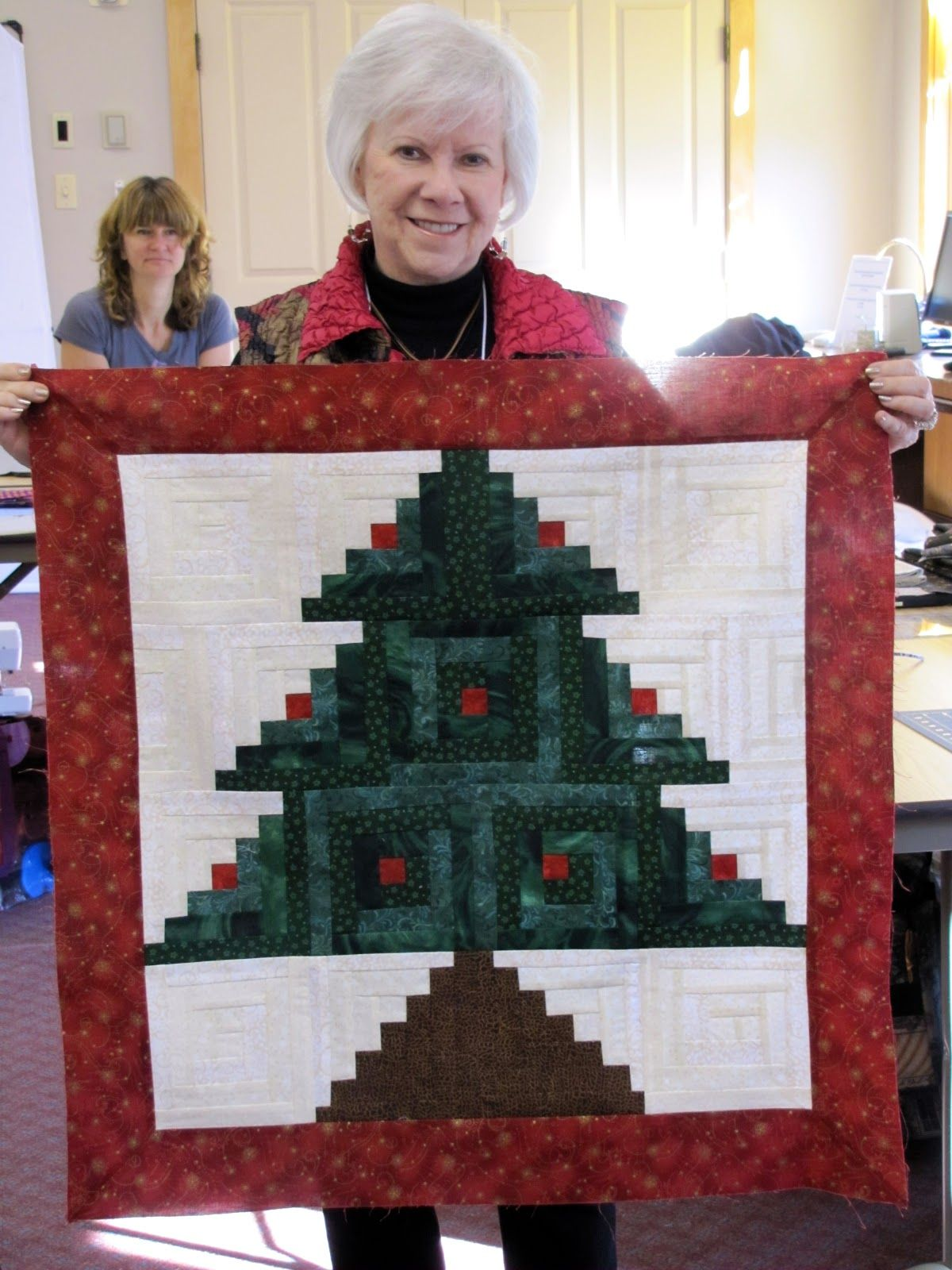 Canton Village Quilt Works Christmas Tree Quilt Christmas Quilt Patterns Christmas Quilts