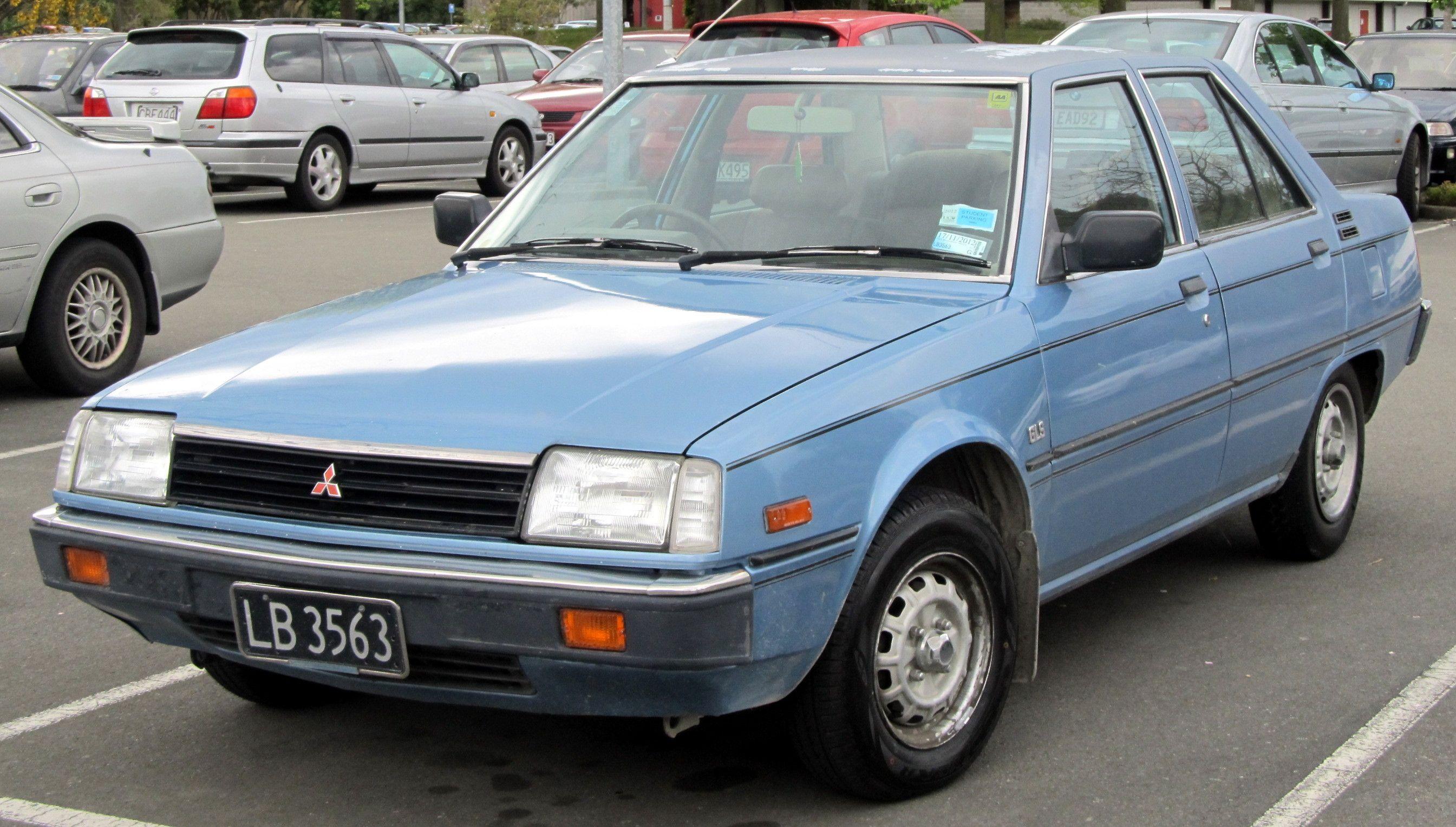 1983 Mitsubishi Tredia 1.6 GLS