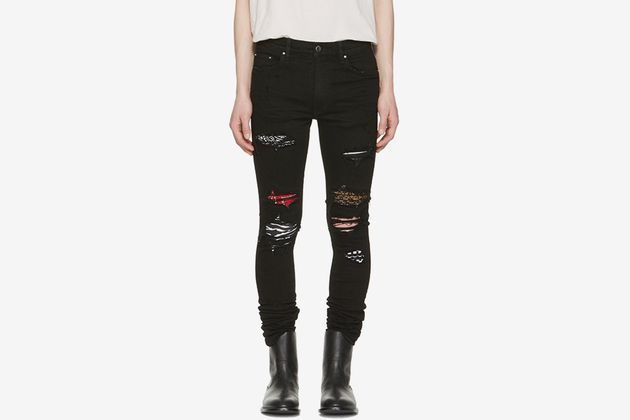 outlet for sale quite nice first rate AMIRI Art Patch Skinny Jeans   LIL BABY SUPLEX   Skinny ...
