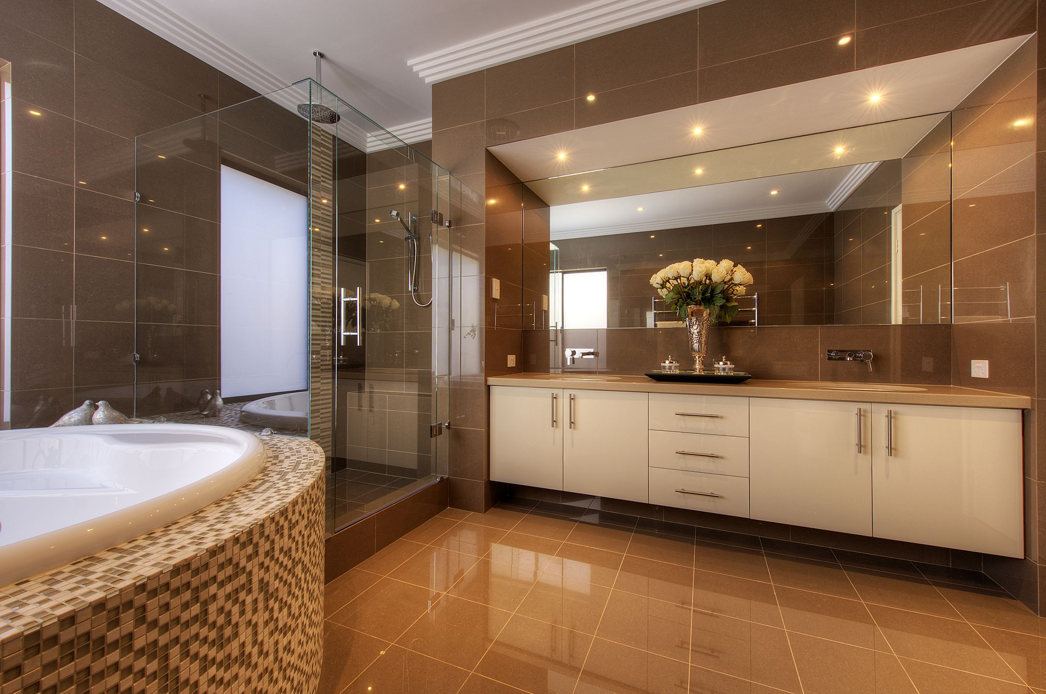 Small Luxury Bathroom Designs Image Result For Bathroom Brown And White  Nesting  Pinterest