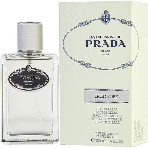 0e7d72b28 PRADA INFUSION IRIS CEDRE by Prada EAU DE PARFUM SPRAY 3.4 OZ ...