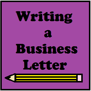 Writing A Business Letter  Business Letter Template Business