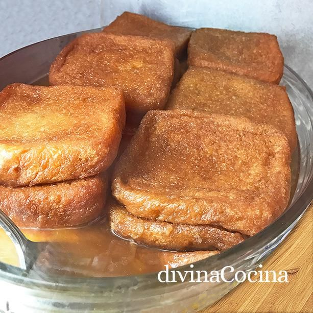 Receta De Torrijas Borrachas Divina Cocina Receta Torrijas Receta De Quesillo Pastel De Patatas