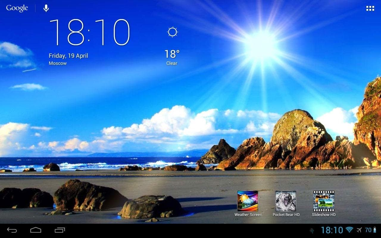 App] Weather Screen Live Wallpaper [DE] YouTube