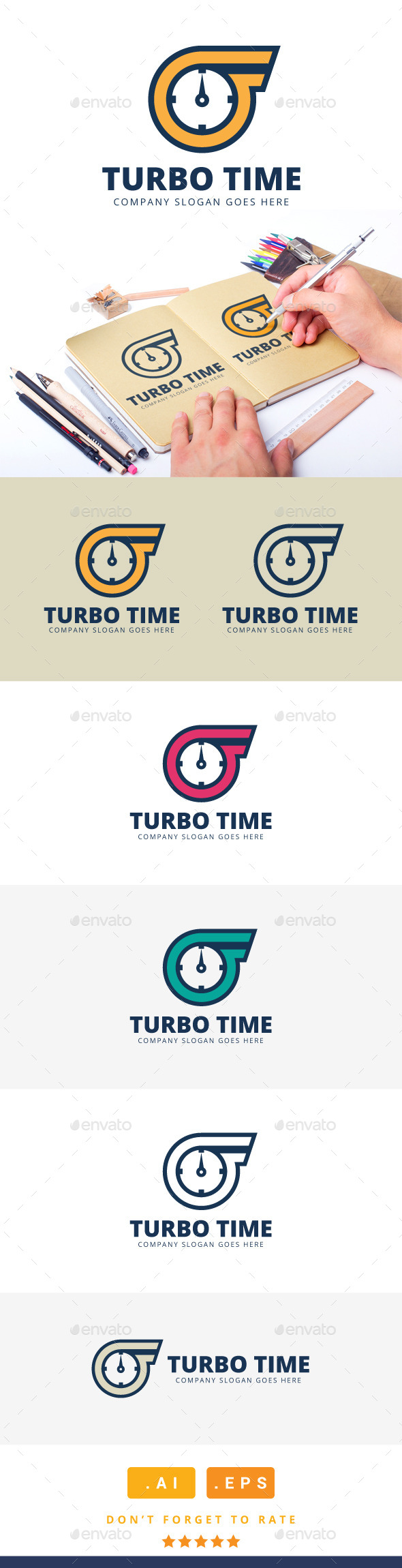 Turbo Time Logo