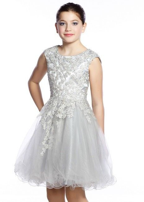 Lexie by Mon Cheri TW21535 Tween Lace Party Dress, Little Girls ...