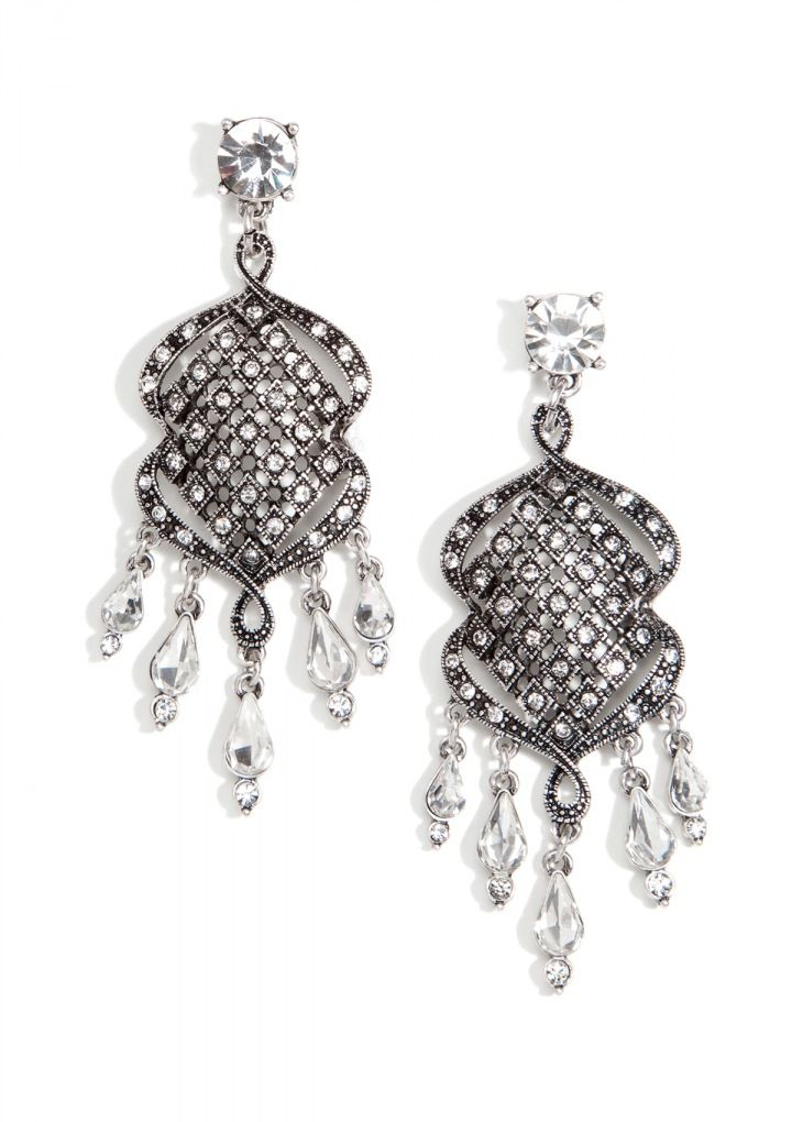 Over The Top Sparkle Statement Earrings 11,13 € #happinessbtq