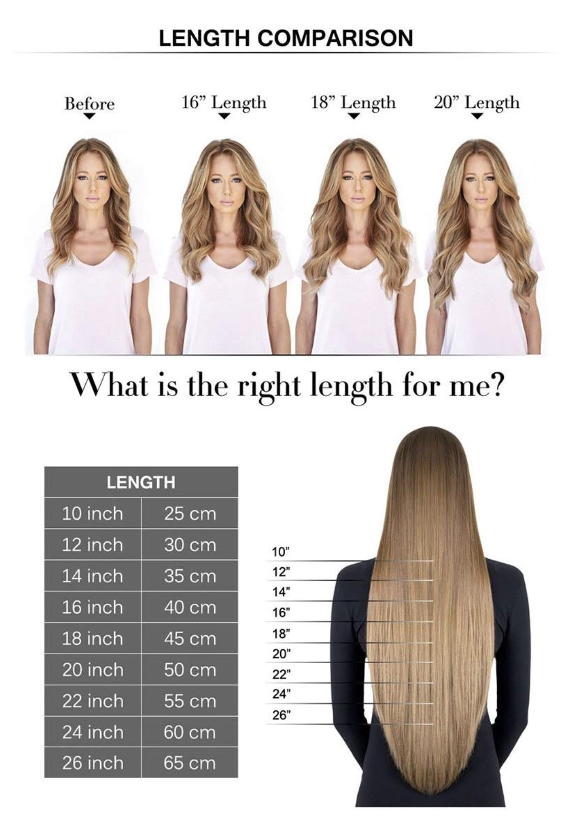 Wondering what is the perfect hair extension length for