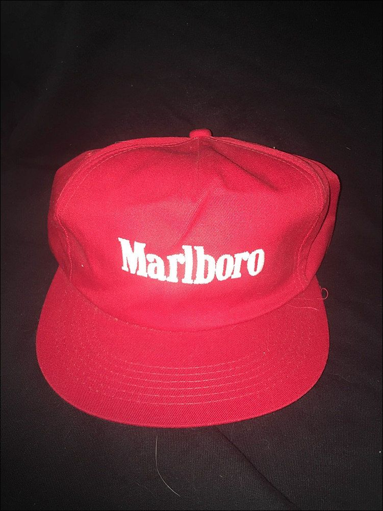 Vintage Deadstock 80 s Marlboro Cigarettes Logo Snapback Hat Cap by  RackRaidersVtg on Etsy 4916fa13e057