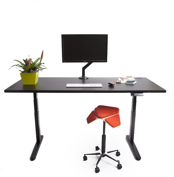 Build Your Own Standing Desk With Our Versatile Jarvis Standing Desk Frame.  Just Add A New Or Reused Work Surface To Build The Ultimate Sit Stand Desk.