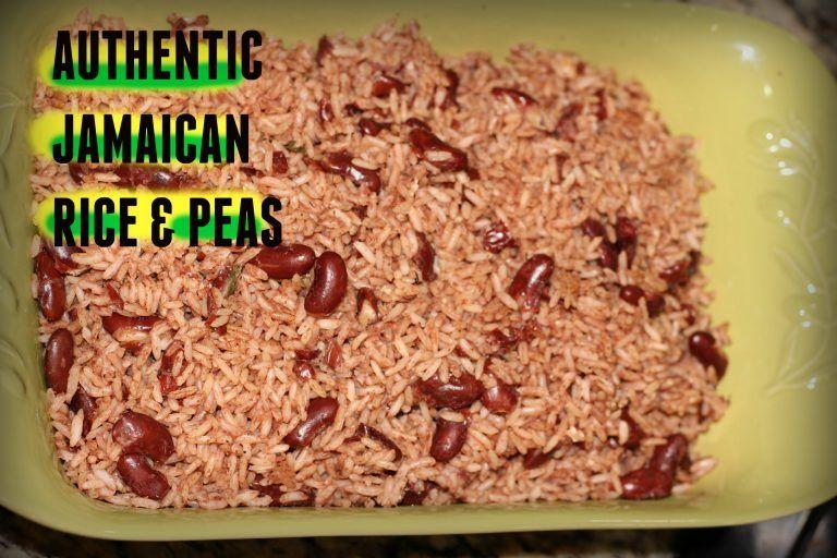 jamaican rice and peas  jamaican rice rice and peas