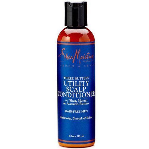 Shea Moisture Three Butters Utility Scalp Shampoo 4 oz