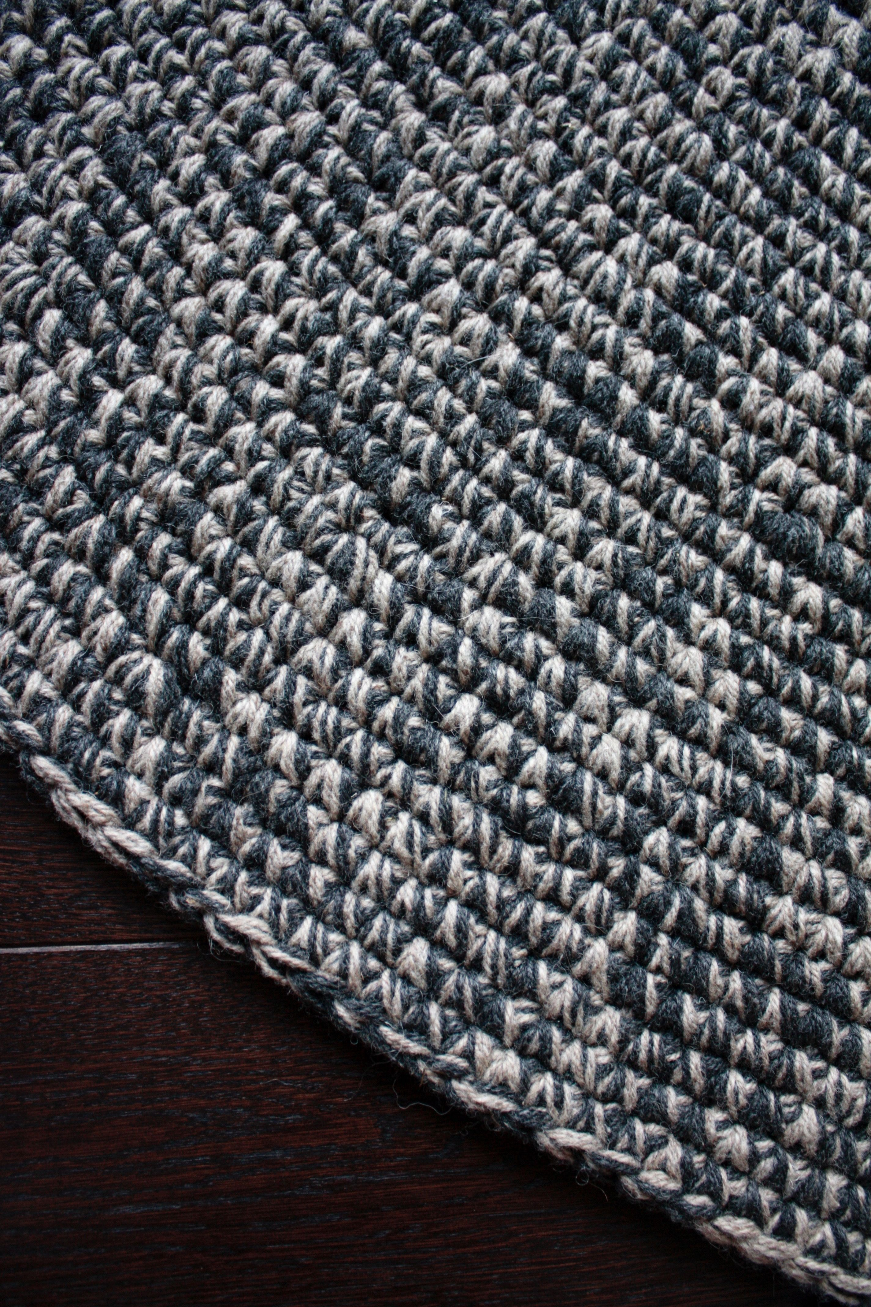Wool Rug Large Living Room Nursery Hand Made Area Floor Bedroom Carpet Super Bulky Arm Knit