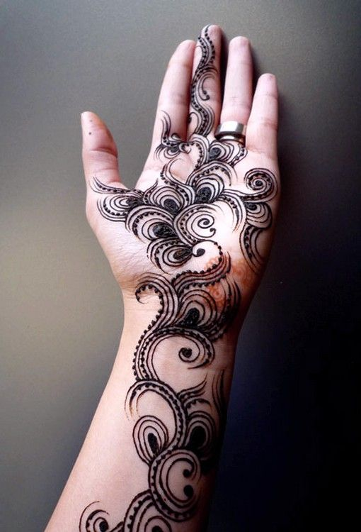 25 Trendy Henna Tattoo Designs To Try For Your Hands: Mehndi Designs, Mehndi Designs