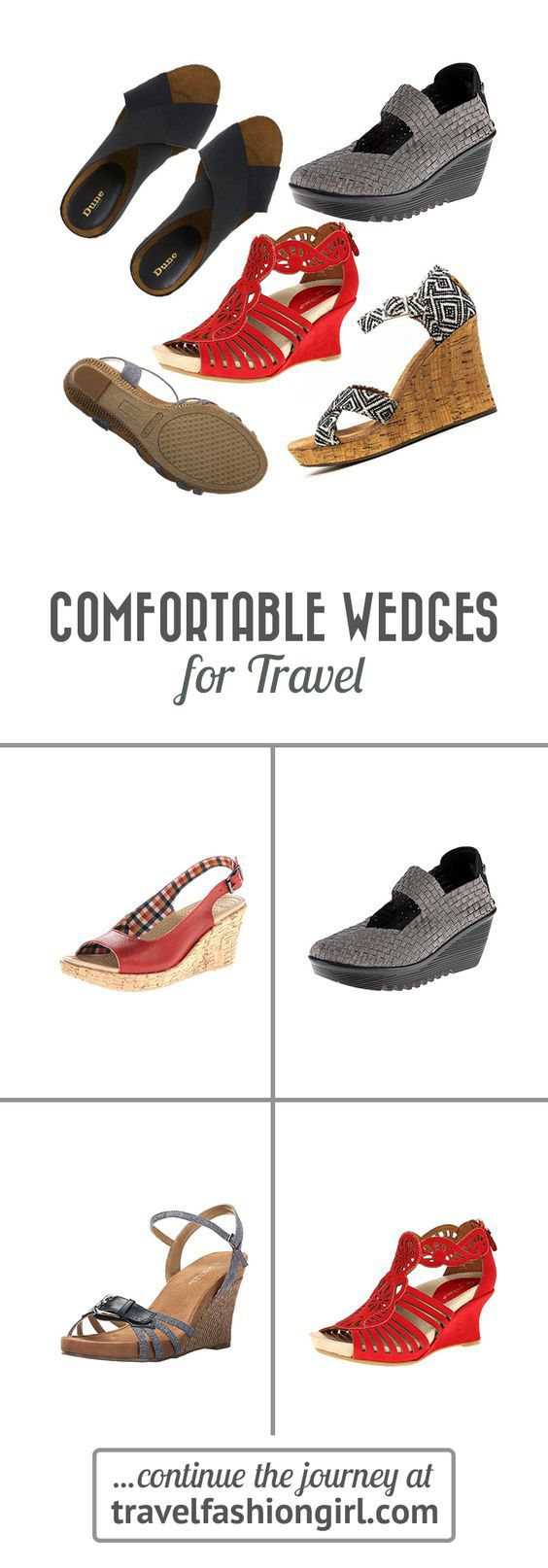 94a6e9484b72 One of our readers asked us for the most comfortable wedges for travel so  we turned