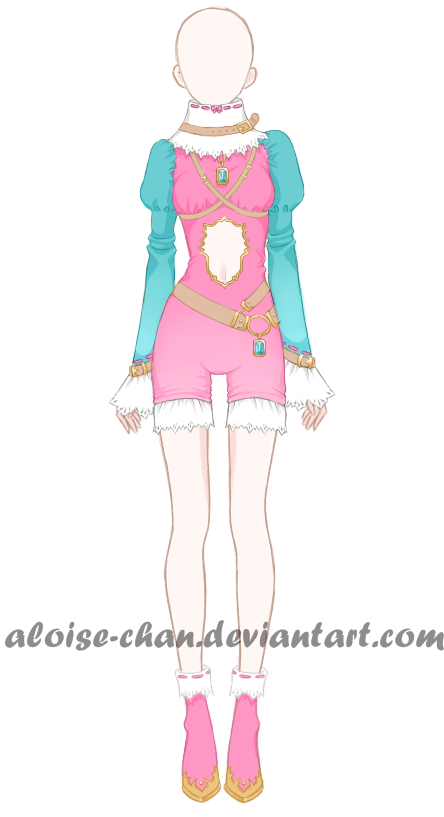 [OPEN] Joker Outfit Adoptable by Aloise-chan.deviantart.com on @DeviantArt