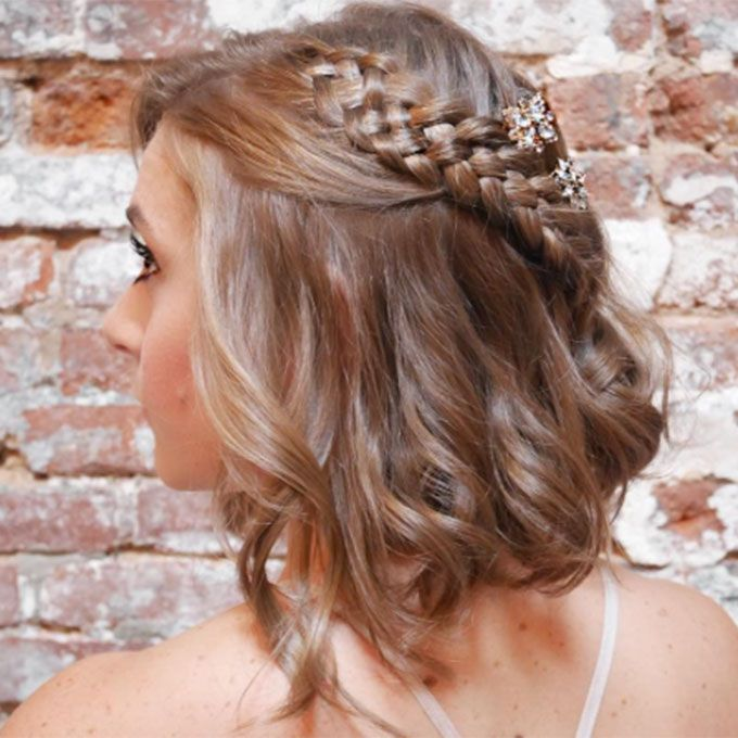Wedding Hairstyle Ideas for the Lob | Lob, Plaits and Hairstylists