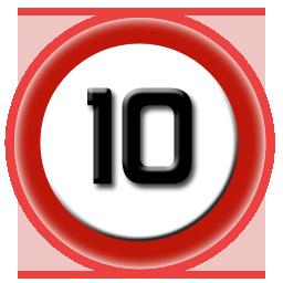 Images Of Number 10 Number 10 Red Retail Logos Lululemon Logo 10 Things