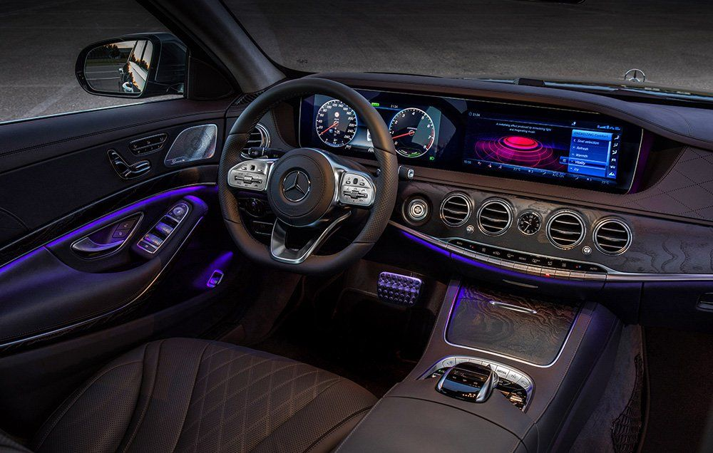 The 2018 Mercedes Amg S63 Is A 603hp Land Rocket With Massaging