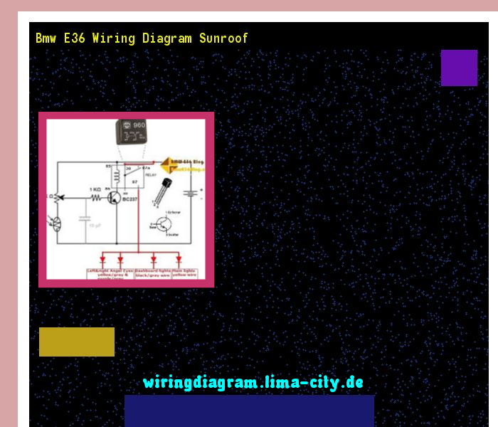 Bmw E36 Wiring Diagram 2004 Pontiac Grand Am Spark Plug Diagrams Sunroof 175147 Amazingbmw
