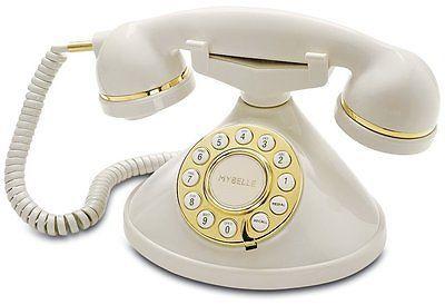 Retro Style Cordless Home Phone