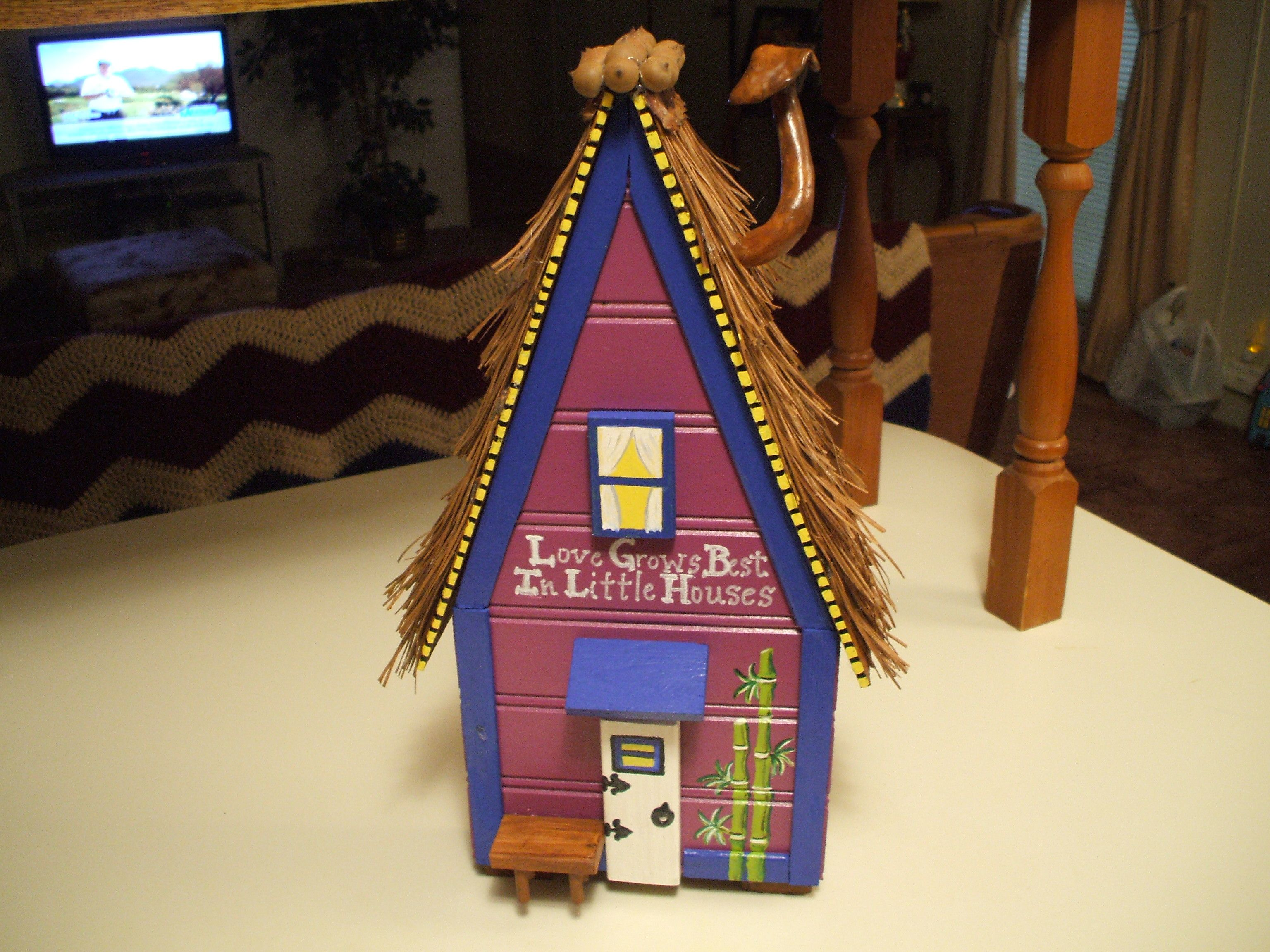 """Gentleman's Fairy House """"Love Grows Best In Little Houses"""" by Rambrosius Gifts"""