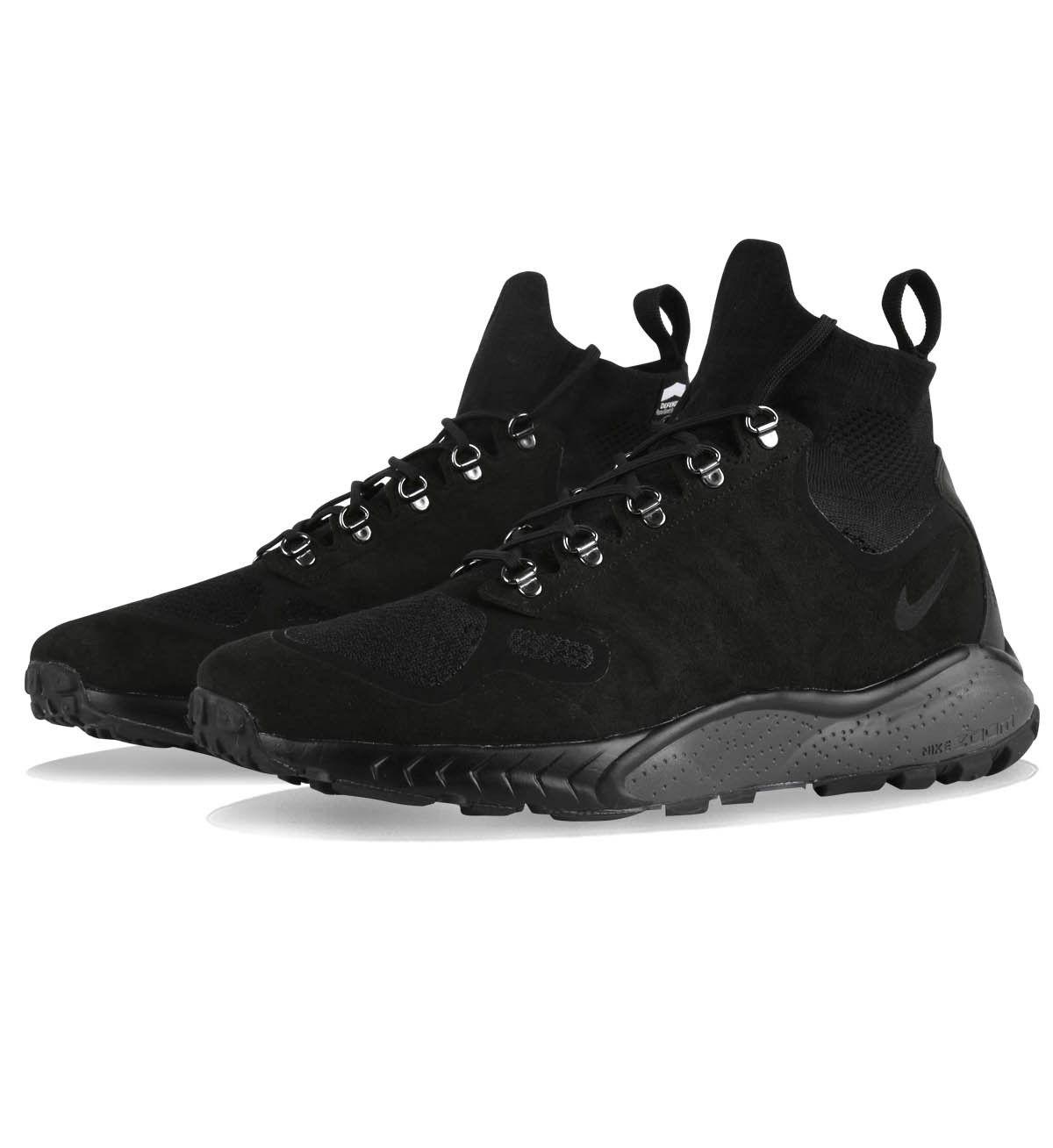 9937cf1143d0b Nike Zoom Talaria Mid Flyknit Black   Black   Dark Grey - Sale ...