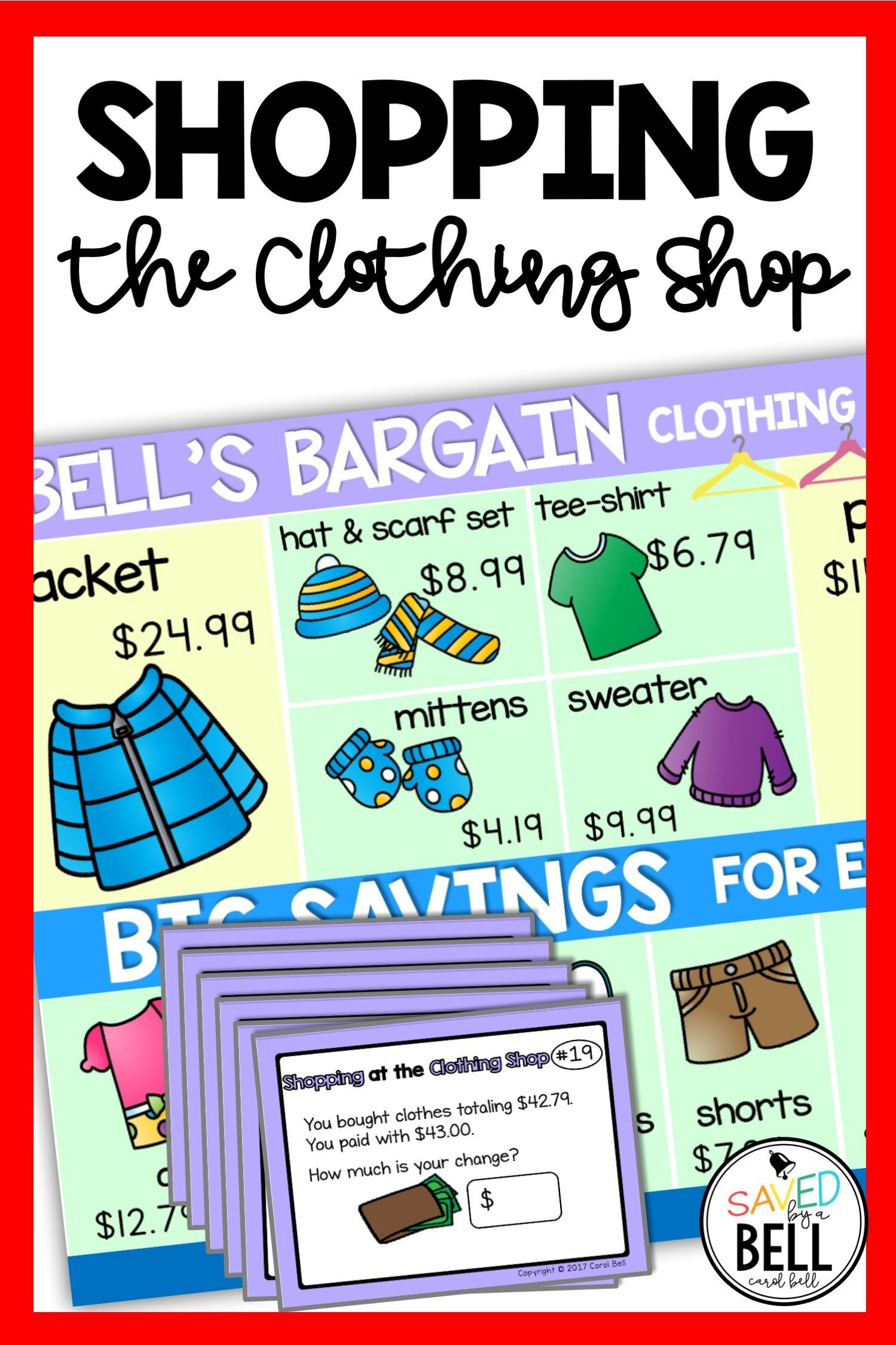 Looking For Fun Real World Math Printables Shopping At