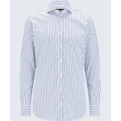 Photo of Shirt Lano in weiß-dunkelbraun gestreiftem Windsorwindsor