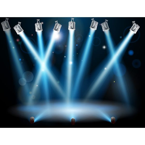 Blue spotlights background ❤ liked on Polyvore featuring backgrounds and spotlight