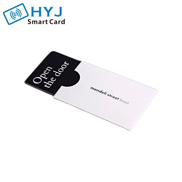 Custom Logo Print Hotel Card Gift Card Holder Sleeve Hotel Key Cards Hotel Card Employees Card