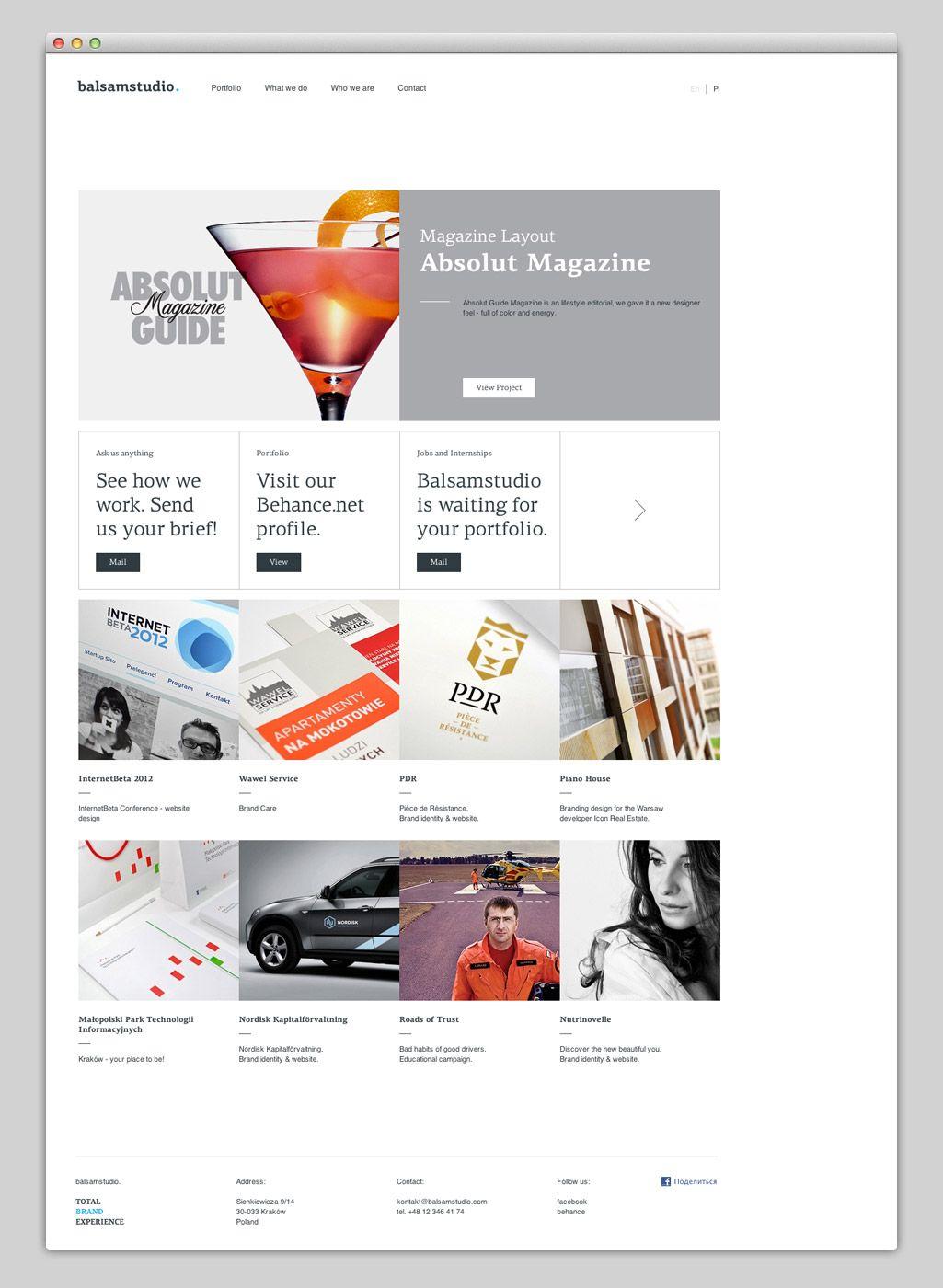 Http Www Balsamstudio Com Beautiful Web Design Web Design Inspiration Affordable Website Design