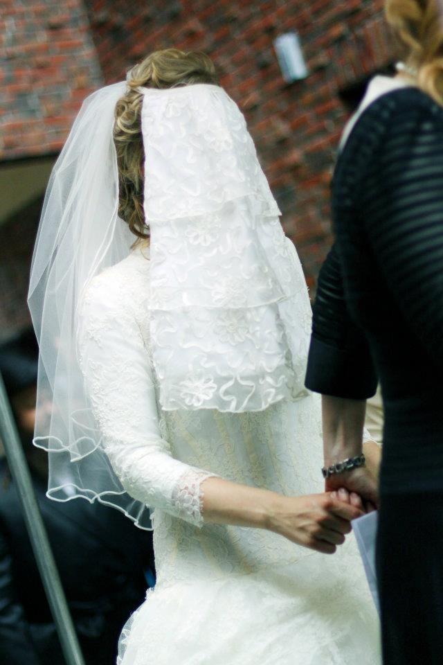 Veil Orthodox Jewish Wedding