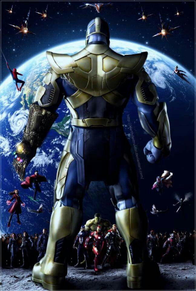 Anime Characters Vs Thanos : Thanos vs the mcu marvel universe pinterest