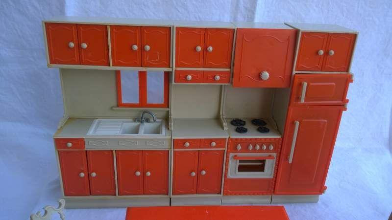 Mobili cucina per bambole anni 60 70 2   GALLETTI GALBA   Pinterest