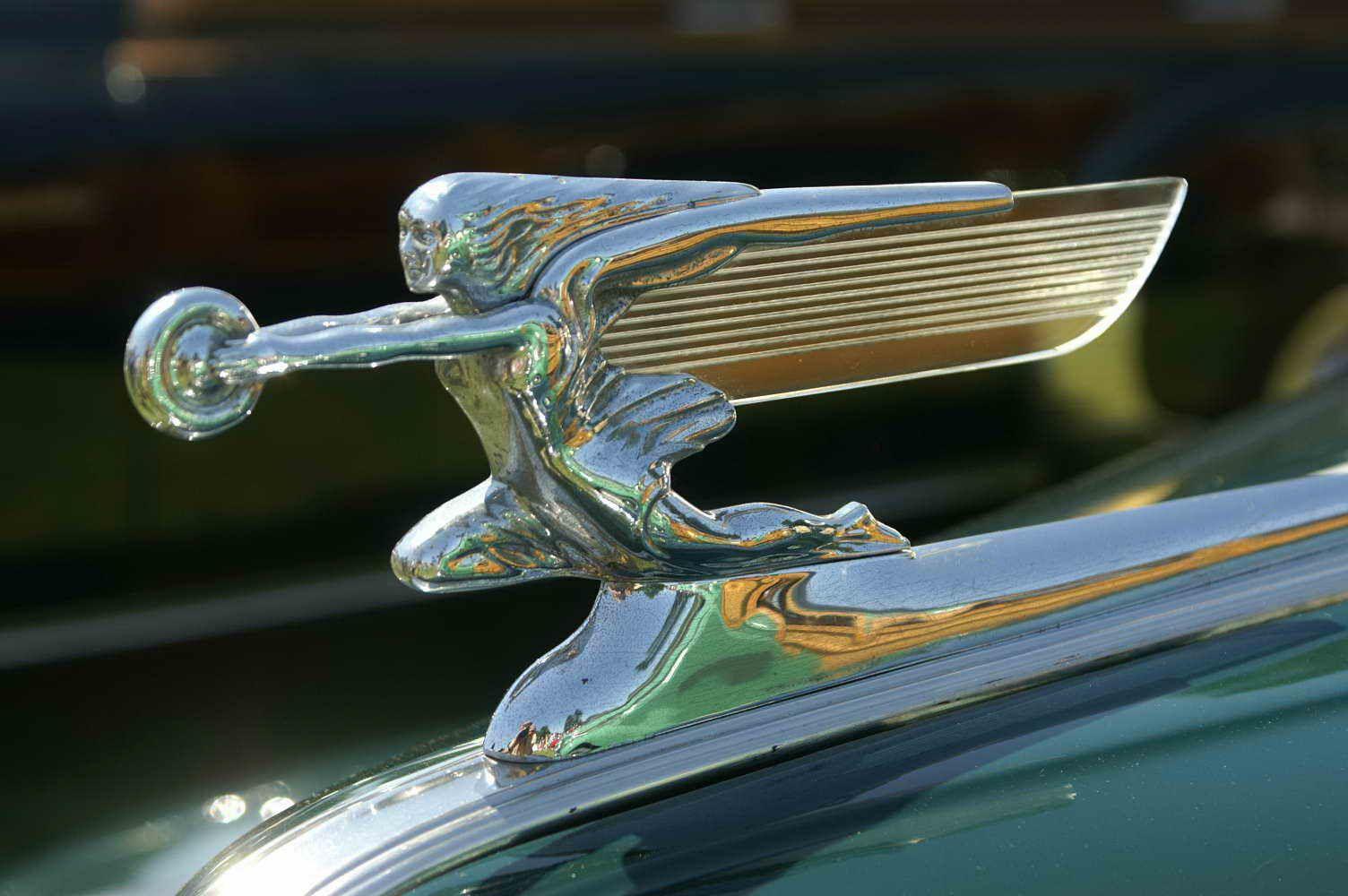 1941 Packard Woody Hood Ornaments Classic Cars Emblems