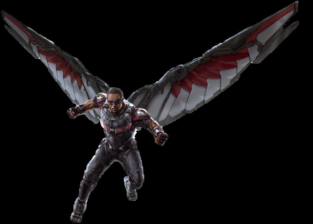 Infinity War Falcon 1 Png By Captain Kingsman16 Vengadores Marvel Figuras De Marvel Los Vengadores