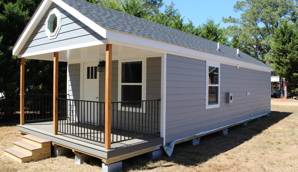 14x40 Modular Tiny Home Cabin For Sale In Due West South Carolina Tiny House Listings Shed To Tiny House Tiny House Cabin Tiny House Loft