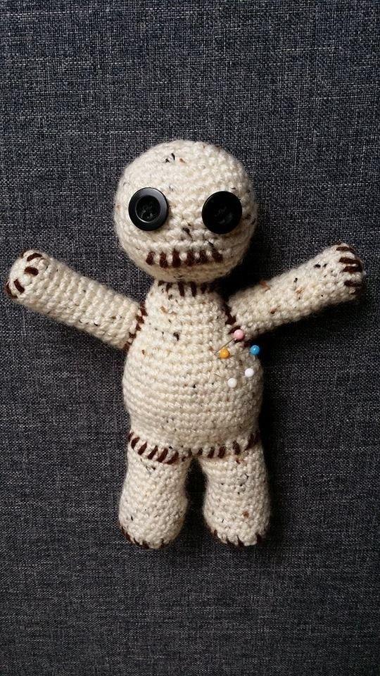 Amigurumi Voodoo Puppe Häkelanleitung Häkeln Pinterest