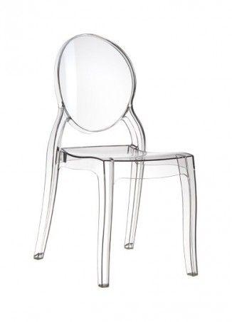 Elizabeth Chaise Transparente Chaise Transparente Chaise Plastique Chaise