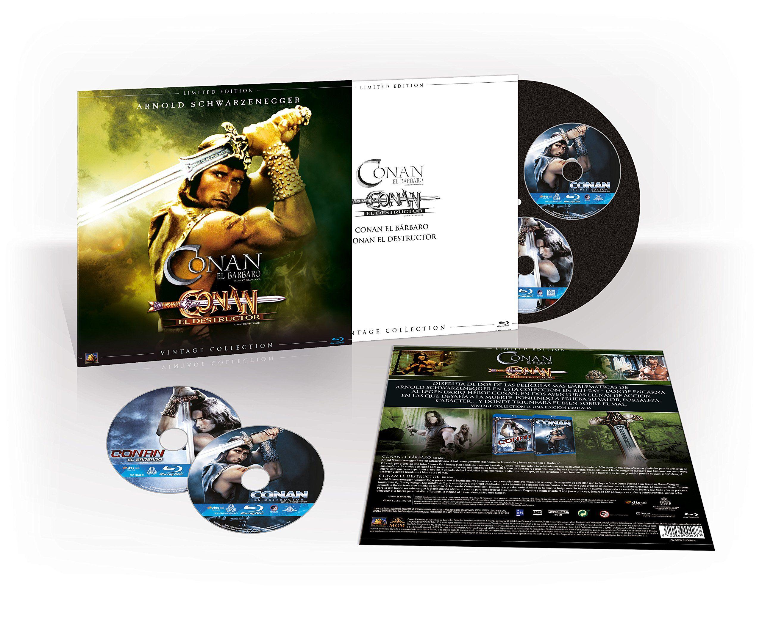 Conan 1 2 Colecci N Vintage Funda Vinilo Blu Ray Vintage Colecci Conan Funda Vintage Blu Ray Blu