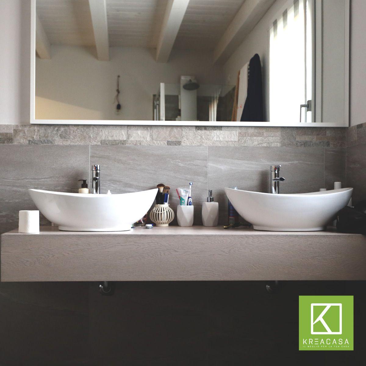 Un bellissimo esempio di una nostra creazione #arredo #bagno ...
