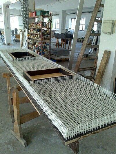 küchenarbeitsplatte beton diy pinterest