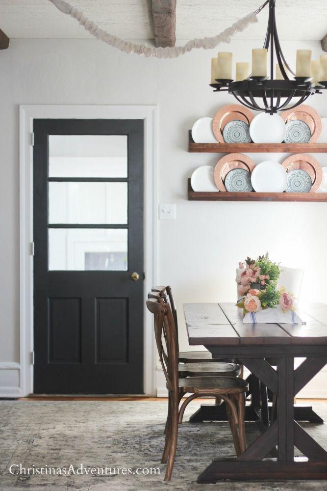 Modern Interior Doors Ideas 30: Dining Refresh: Our Painted Interior Door